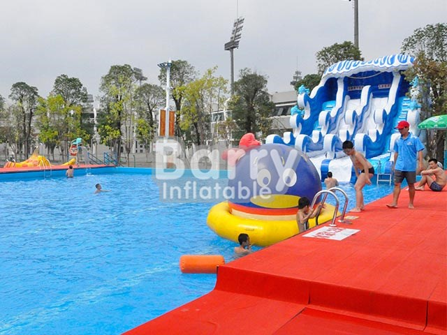 4c54e06f204 Products - Inflatable Water Slide - Blue wave water slide pool for kids