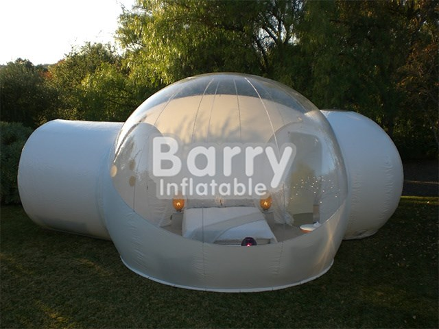 68eb1607b9b Custom Inflatable Structures Tent - bubble tent - Outdoor camping  inflatable transparent bubble tent with 2 two tunnel BY-IT-022 - Guangzhou  Barry ...