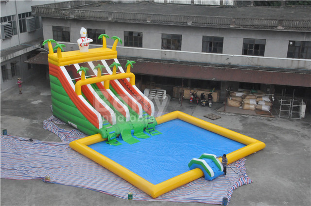 Ultimate Inflatable Backyard Water Park amusement water park - ultimate inflatable backyard water park