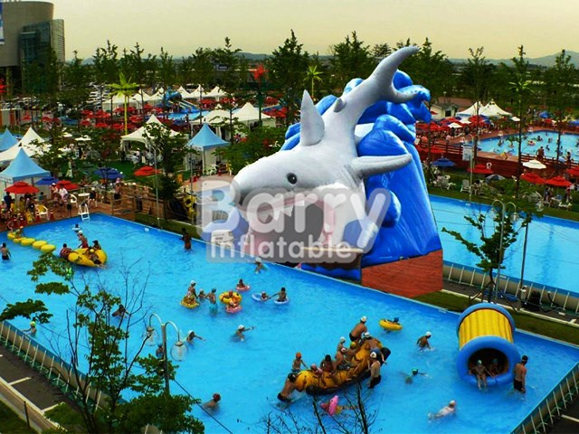 Commercial Sharp Inflatable Pools,Metal Frame Pool For Sale BY-SP-001