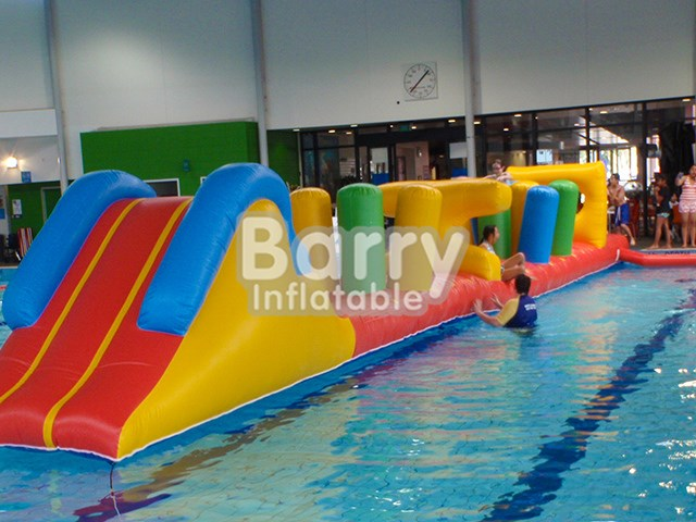 0.9mmPVC Inflatable Aqua Park Good Qaulity Inflatable Water Obstacle Course For Sale BY-AR-003