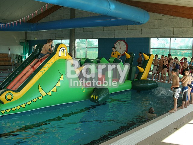 China Cheap Durable Water Obstacle Inflatable Aqua Running In Pool BY-AR-016