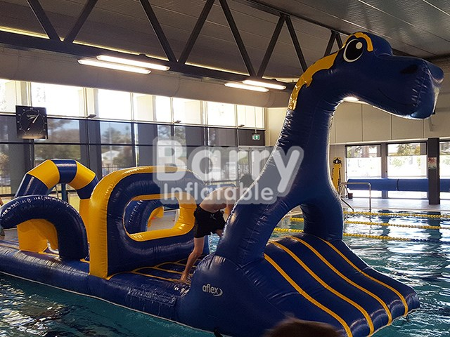 Pool Floating Dragon Aqua Run,Inflatable Water Obstacle Course For Sale BY-AR-005