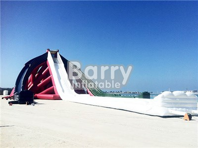 China Cheap Price 10 Meter High Giant Inflatable Water Slide BY-GS-002