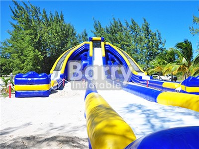 Giant Inflatable Trippo Water Slide For Adult/Hippo Large Inflatable Water Slide BY-GS-014