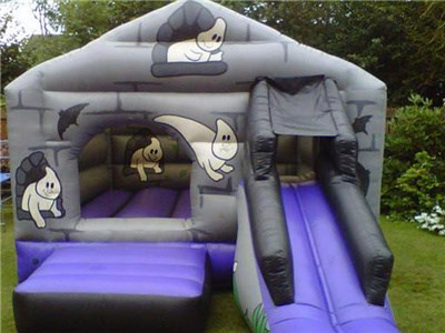 Halloween theme inflatable bounce for kids