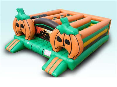 Halloween Inflatable pumpkin Maze for sale