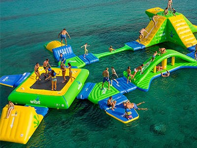 Giant Inflatable Water Park Games , Wibit Sport Park 35 Parts BY-IWP-002