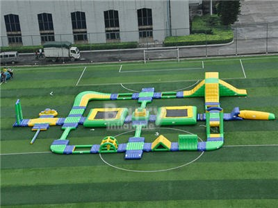 Large Thailand Project Inflatable Floating Water Park Obstacle Course For Sea With CE BY-IWP-005