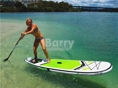 Cheap Wholesale Double Layers Inflatable Stand Up Paddle Board BY-PD-032