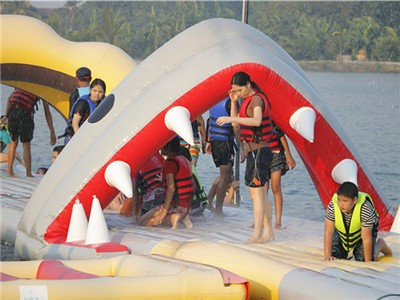Commercial Giant Inflatable Water Park for Thailand