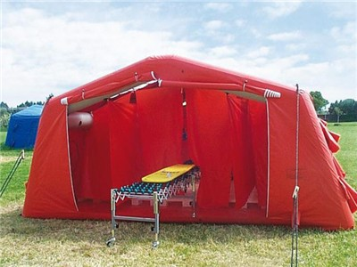 PVC Inflatable Emergency Medical Tent for Sale